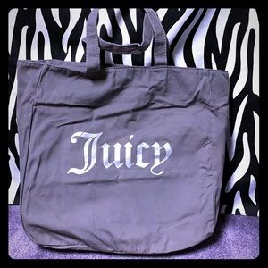 Juicy Couture Grey Tote Bag